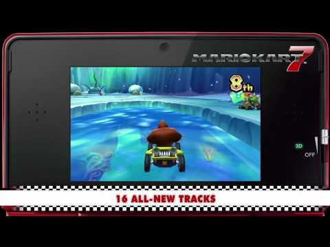 Mario Kart 7 arrives on Nintendo 3DS Video