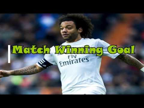 Marcelo match winning goal (Real Madrid vs Valencia)29/04/2017