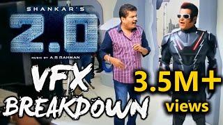2.0 VFX Breakdown |  Rajinikanth | Akshay Kumar | Shankar | A.R.Rahman | Amy Jackson | TVNXT Hotshot