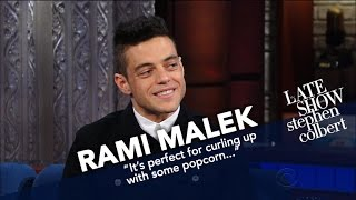 Video Rami Malek Had To Watch Queen Listen To Him Sing Queen MP3, 3GP, MP4, WEBM, AVI, FLV Mei 2018