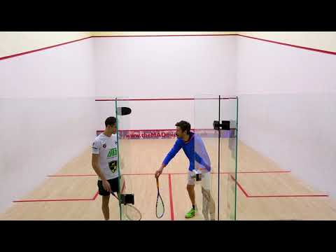 SquashSkills Backwall Challenge! Prize Giveaway! ft. Ali Farag
