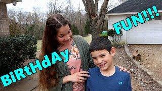 Luke's Birthday!!! Birthday Fun/ Bottle Rockets/ Birthday Surprise/ Happy Birthday/ Family VLOG