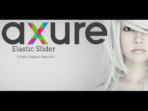 Axure RP tutorial for beginners: 01 How to create an Elastic slider in Axure