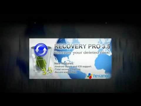 Video of Hexamob Recovery PRO