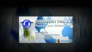 Hexamob Recovery PRO YouTube video