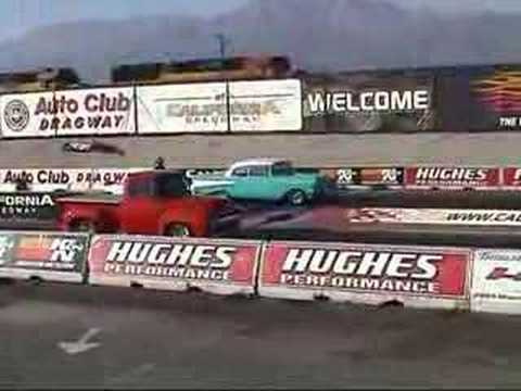 '56 Ford vs. Chevy Bel Air