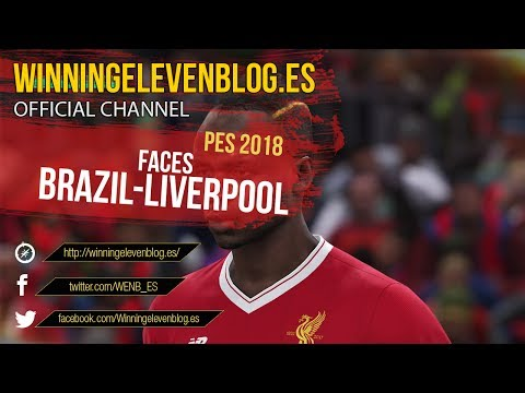 PES 2018 | FACES | BRAZIL-LIVERPOOL