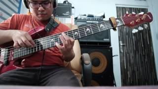 Bersorak-sorai (bass cover)
