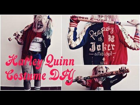 Harley Quinn Suicide Squad costume DIY
