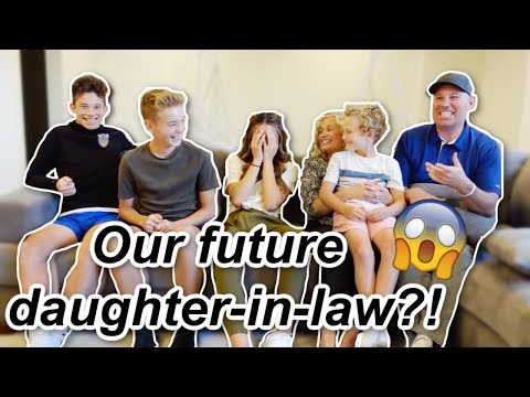 Our Future Daughter-in-law?! | It's The Johnsons