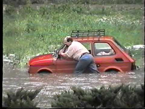 Jedyny taki film z powodzi w Ożarowie z 1995 roku odnaleziony po 23 latach
