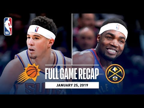 Video: Full Game Recap: Suns vs Nuggets | Eight Different Nuggets Score In Double-Figures