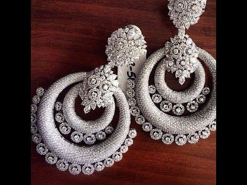 Gorgeous Bahubali Side Jhumka Chain Earring Design###2018