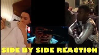 Video Daisy Ridley and John Boyega Reacts Side by Side to Official Trailer MP3, 3GP, MP4, WEBM, AVI, FLV Oktober 2017