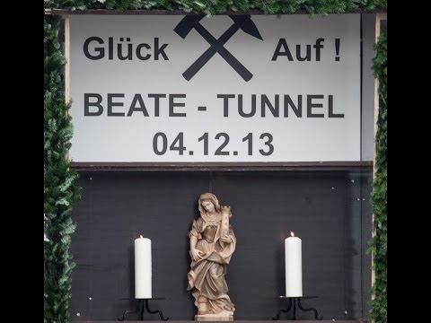Tunneltaufe der Zuführung Ober-/Untertürkheim
