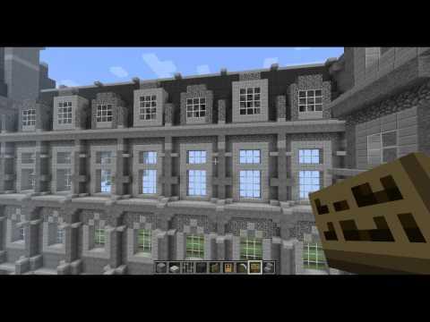 H tel de ville paris 1 1 minecraft project - Video de minecraft ville ...