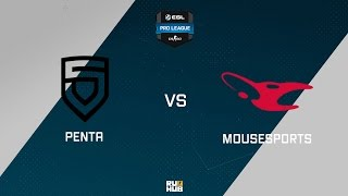 PENTA vs mouz, game 1