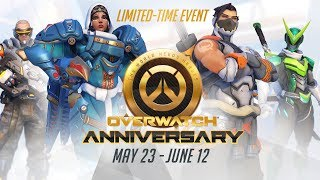 [NEW SEASONAL EVENT] Welcome to our Overwatch Anniversary!