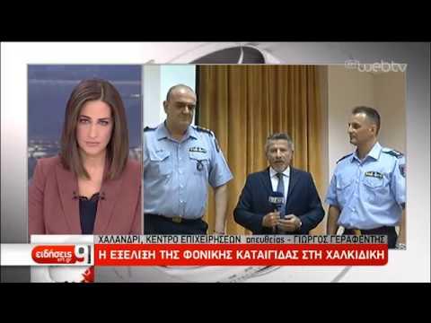 Σε ετοιμότητα η Πυροσβεστική στη Χαλκιδική | 11/07/2019 | ΕΡΤ