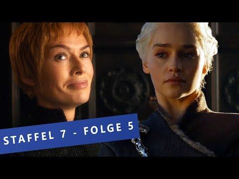 Game Of Thrones - Staffel 7: Die denkwürdigsten Momente aus Folge 5 \