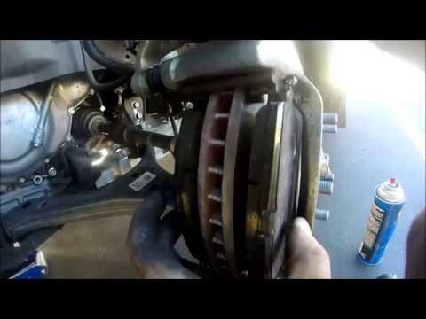 2013 Honda Accord Front Brake Squeal Fix – TSB 12-08