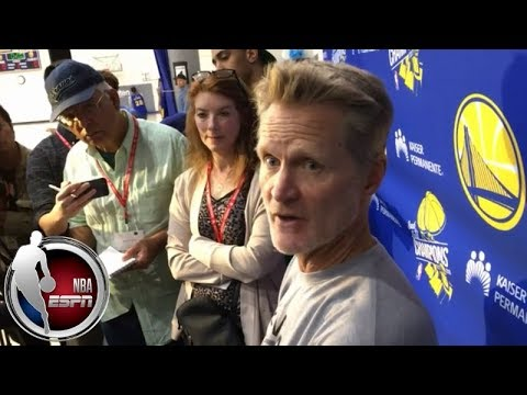 Video: Steve Kerr on Warriors in 2018/19: 'Center position will look different' | NBA Interviews
