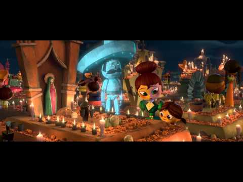 "The Book Of Life 2014 ""Cute"" scene"