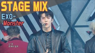 EXO - Monster @Show Music Core Stage Mix