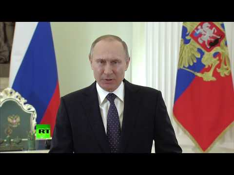 Путин поздравил военнослужащих Сил специальных операций с праздником