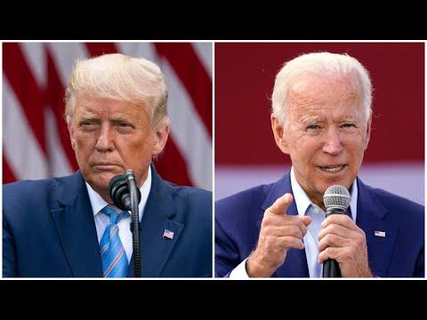 Live: Donald Trump and Joe Biden go head to head in their first US presidential debate | ITV News