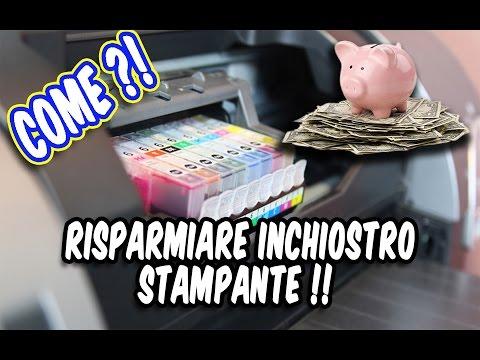 1 trucco per RISPARMIARE INCHIOSTRO della stampante !! ArmaDisk ITA