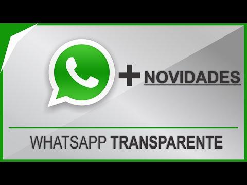 Como Baixar Whatsapp Transparente: Nova Versão com TEMAS e FOTOS no CHAT