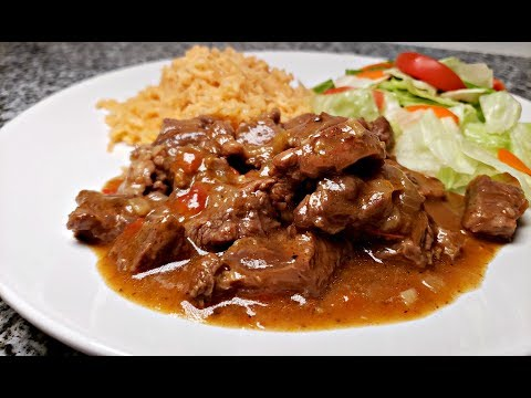 CARNE GUISADA RECIPE | Tex Mex Beef Stew Recipe | Easy Carne Guisada Recipe