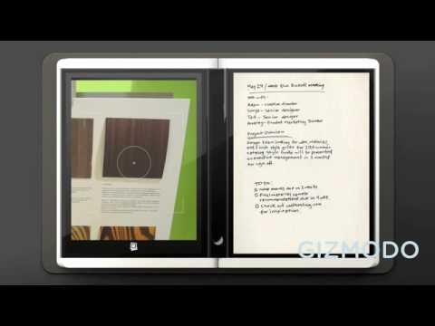 0 in Microsoft Courier Tablet das elektronische Booklet