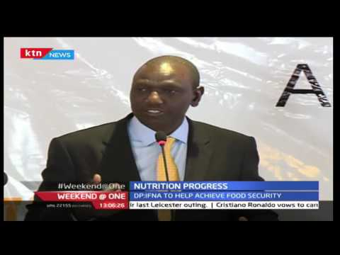 Ruto on Nutrition Progress during the TICAD Confrence