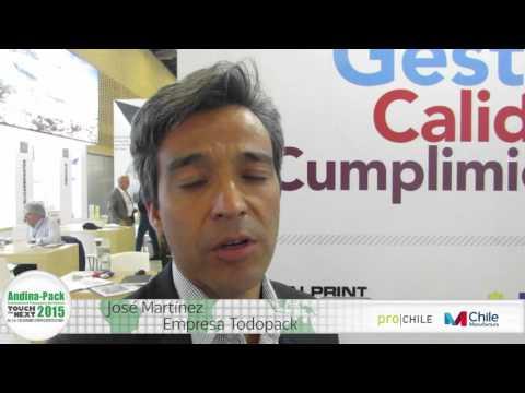 Jaime Martinez de la empresa Todopack