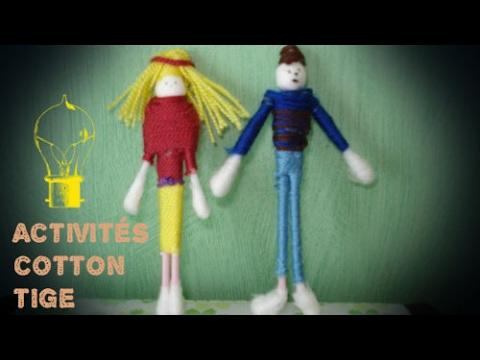 20 activités pour enfants avec des coton-tige