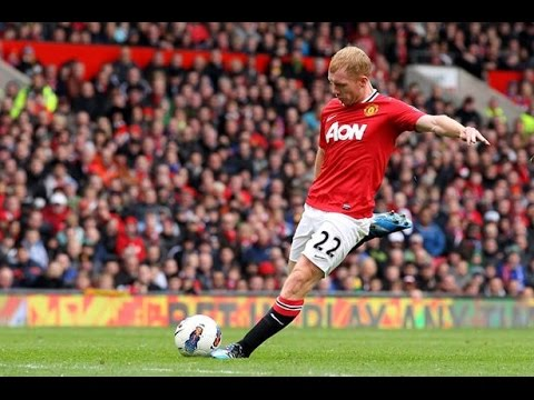 Paul Scholes | The Ginger Prince | Top 10 Goals