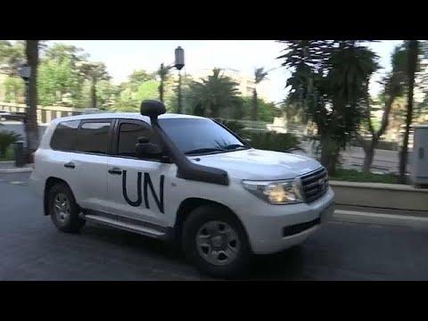 Syrien: Chemiewaffenermittler in Damaskus eingetroffe ...