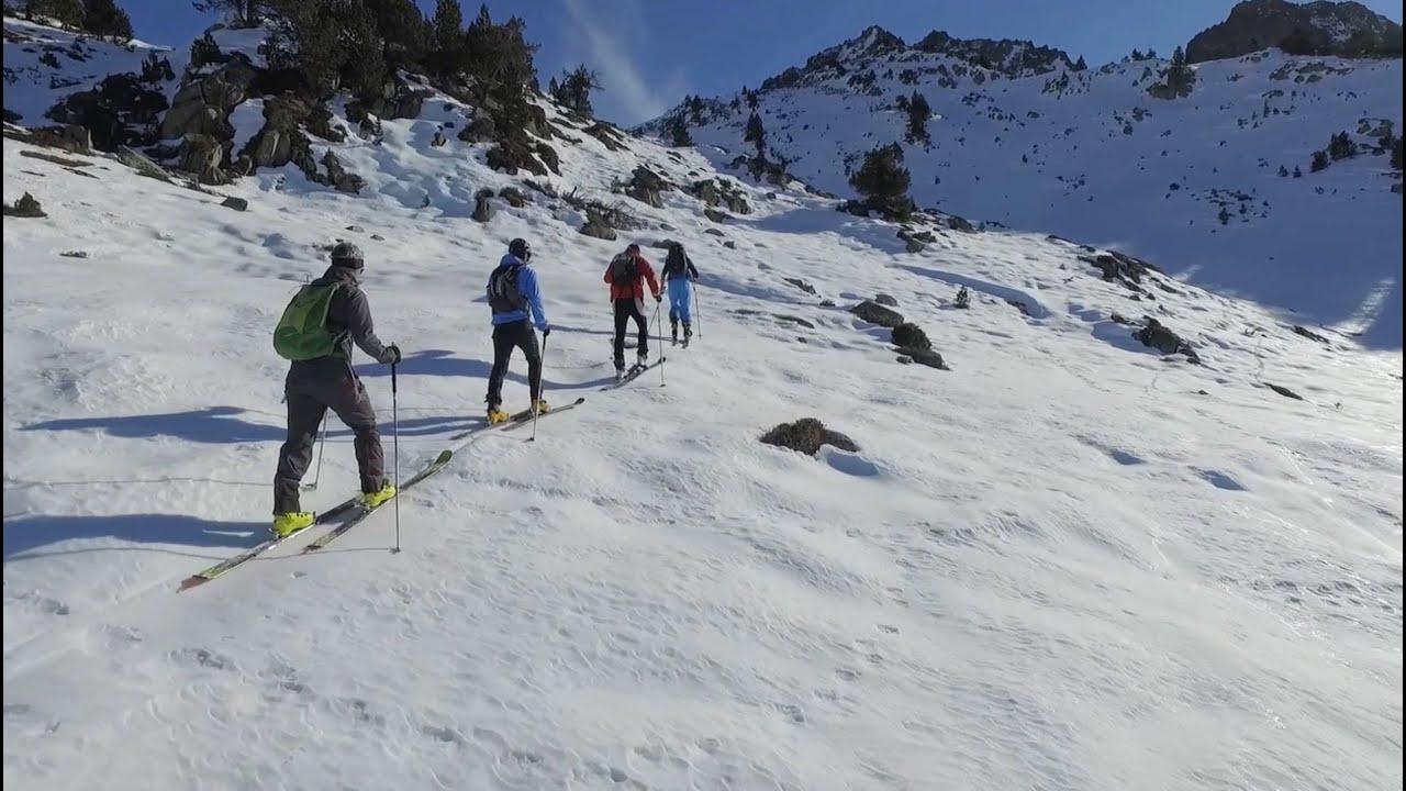 EVASIÓN TV: Esquí de Montaña en Valls d'Àneu - Pirineo de Lleida