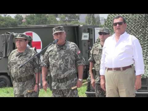 Hospital Militar de Campaña se traslada a Tumbes