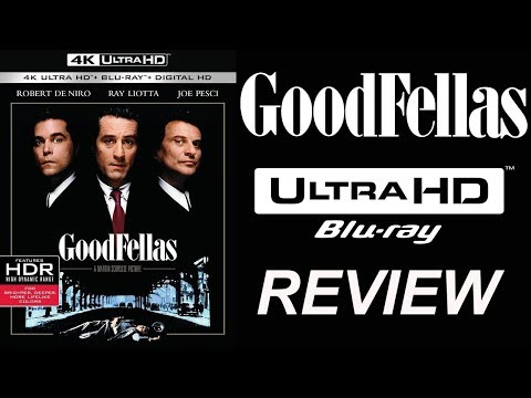 GOODFELLAS 4K Blu-ray Review