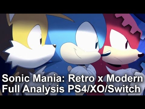 Sonic Mania: Retro vs Modern - The Complete Analysis