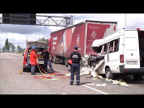 ДТП возле села Глубочица - 10 человек погибло