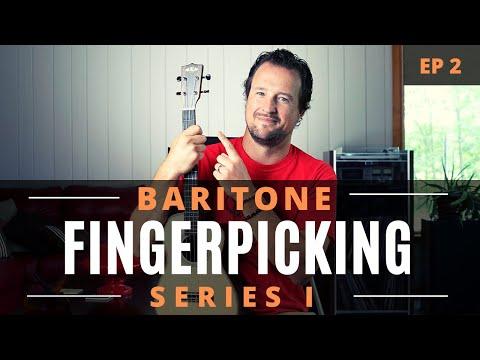 Baritone Ukulele Fingerpicking Series | EP 2 | Tutorial + Chords + Play Along