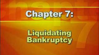 Bankruptcy Basics - Part 2: Types of Bankruptcy