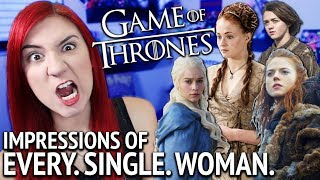 Voice impressions for EVERY SINGLE SEMI-SIGNIFICANT FEMALE CHARACTER in Game of Thrones. Except Lyanna Mormont cuz I dun goofed. -.-' Spoiler ...