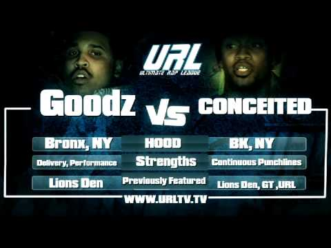 URL Presents CONCEITED vs GOODZ RD 1