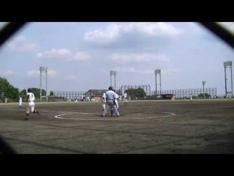 群馬県中学校春季軟式野球大会 宝泉中 VS 沼田西中