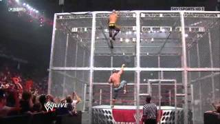 Video John Cena vs Randy Orton - Gauntlet Match Hell in a Cell MP3, 3GP, MP4, WEBM, AVI, FLV November 2017